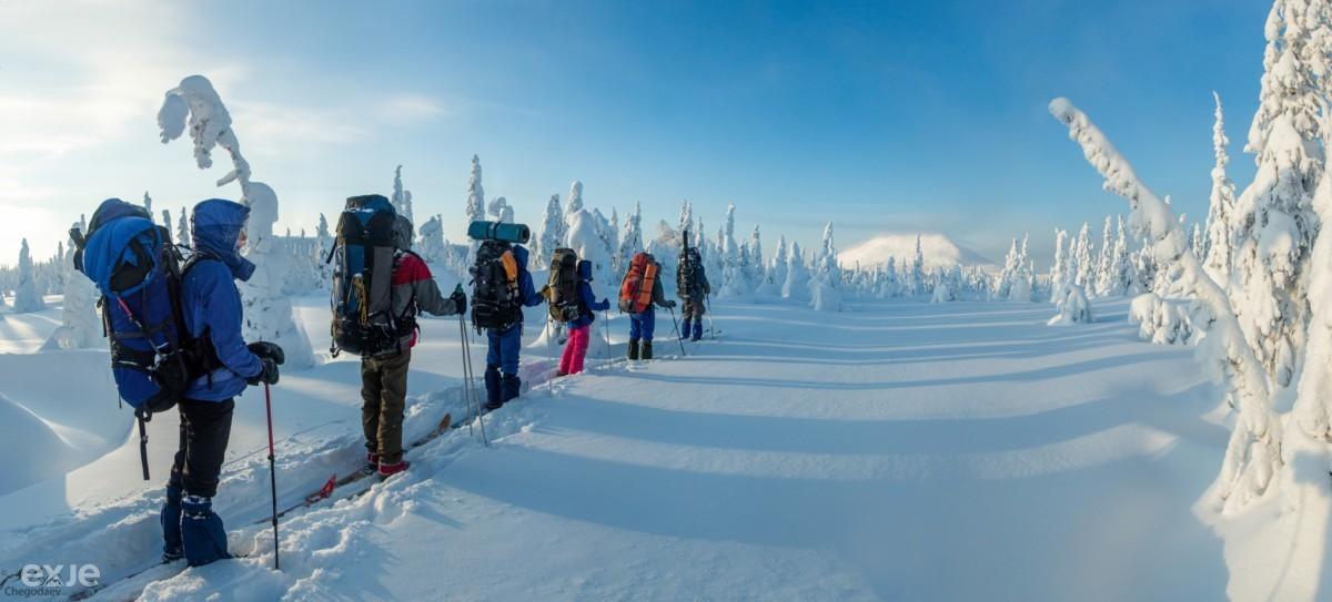 Лыжный туризм: описание,экипировка,безопасность,фото,видео.