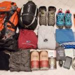Что нужно взять с собой в поход: описание,фото