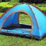 Как поставить палатку:описание,фото