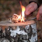 Как разжечь костер без спичек и зажигалки в лесу?