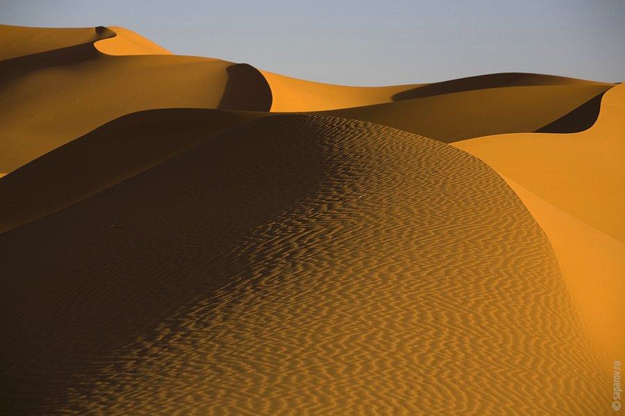 Прогулка по пустыне Сахара