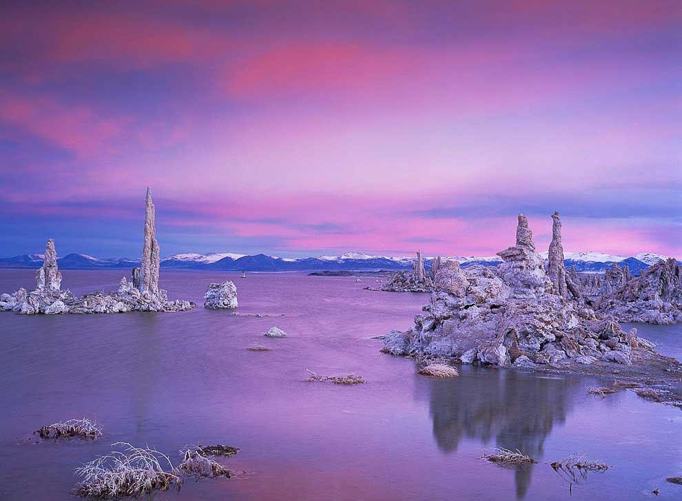 Удивительное озеро Моно в Калифорнии