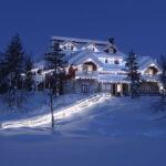 Стеклянная гостиница в Лапландии — 20 фото