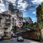 Самая извилистая и удивительная улица в Сан-Франциско
