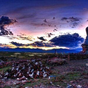 Прекрасный и загадочный Тибет — 41 фото