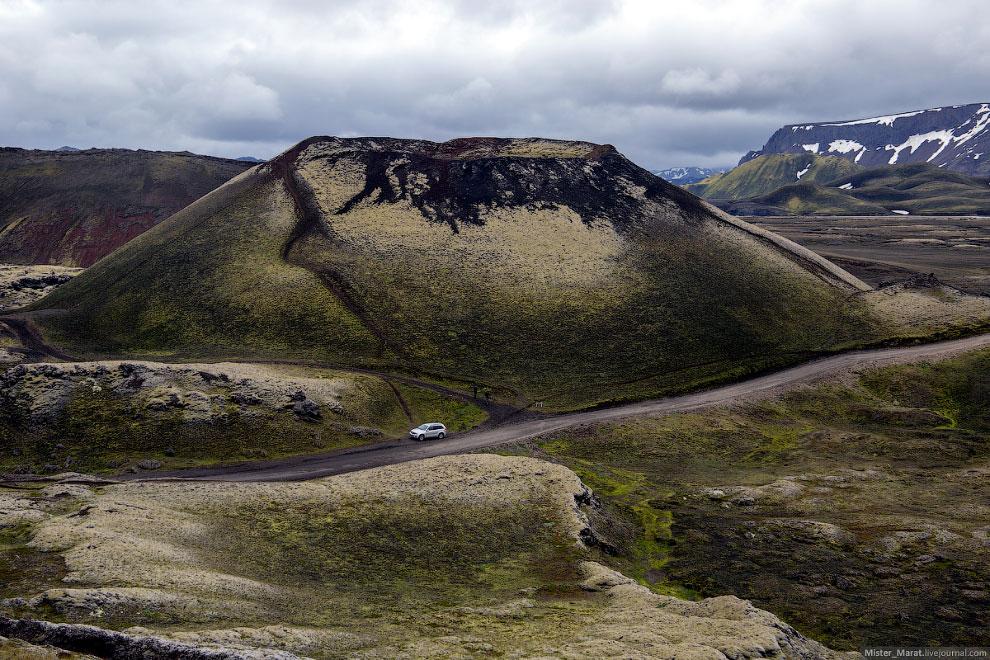 Остров Исландия: путешествие к долине Landmannalaugar