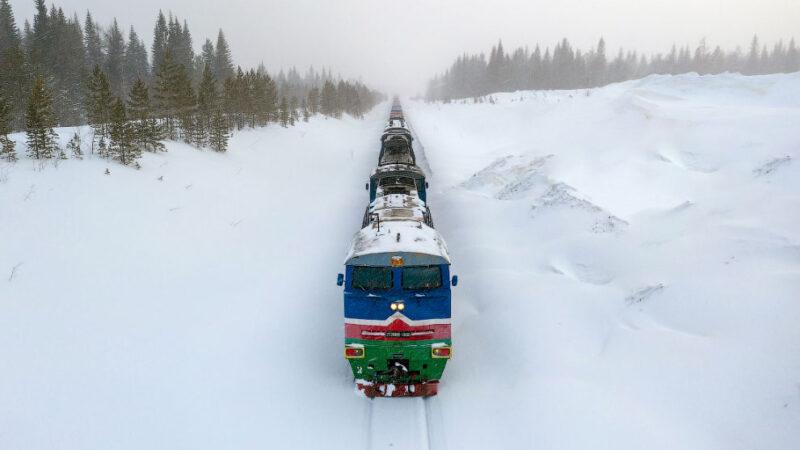 Транспортное сообщение в Республике Саха (Якутия) — 34 фото