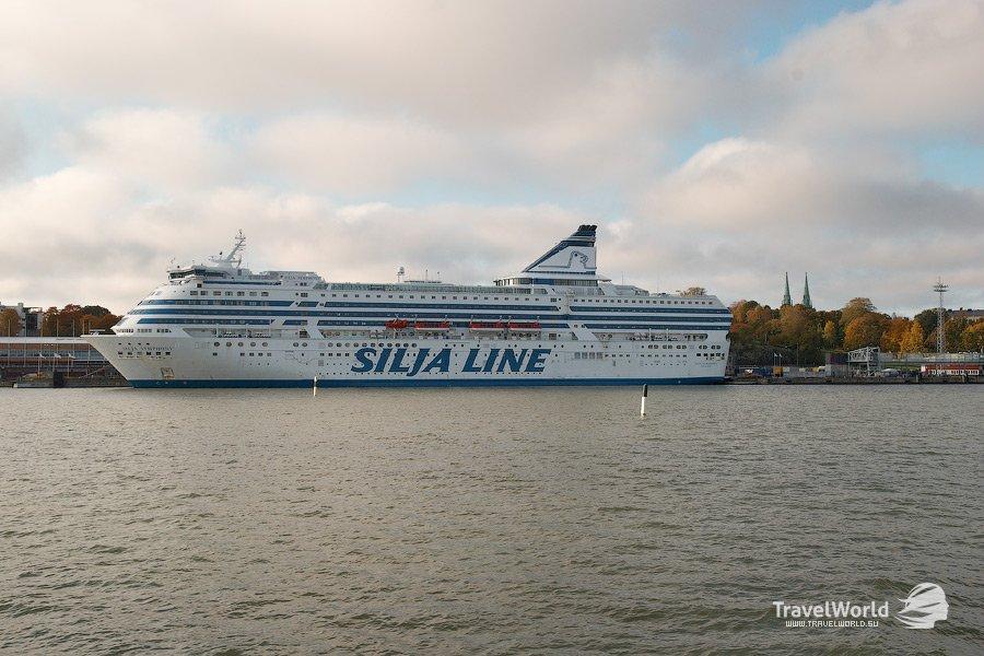 Морские паромы легендарной финской компании Silja Line — 36 фото