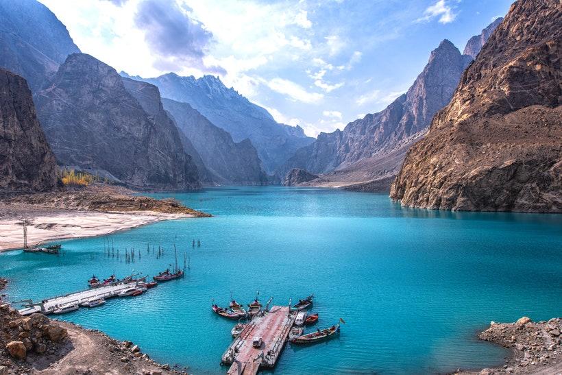Озеро Аттабад, Пакистан