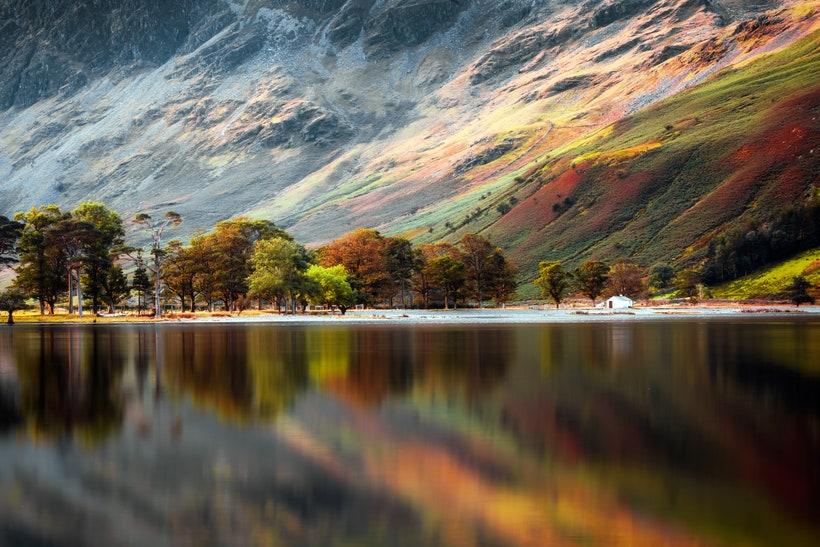 Озеро Батмер, Англия