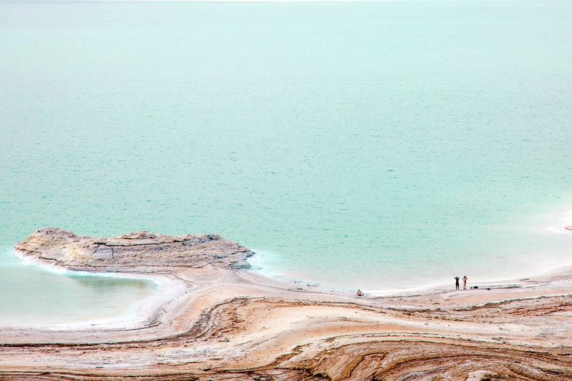 Мертвое море, Израиль и Иордания