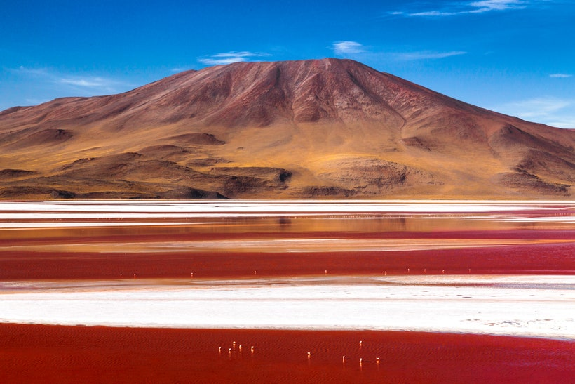 Лагуна Колорадо, Боливия