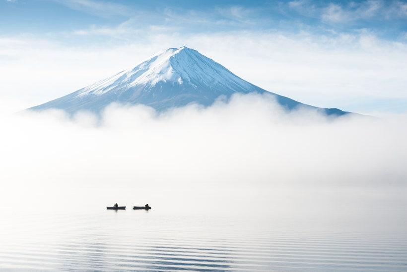 Озеро Кавагутико, Япония