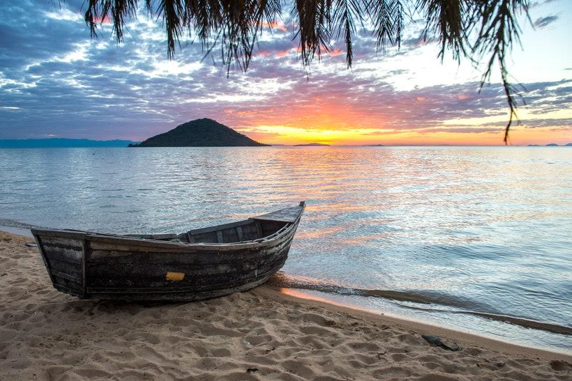 Озеро Малави, Мозамбик и Танзания