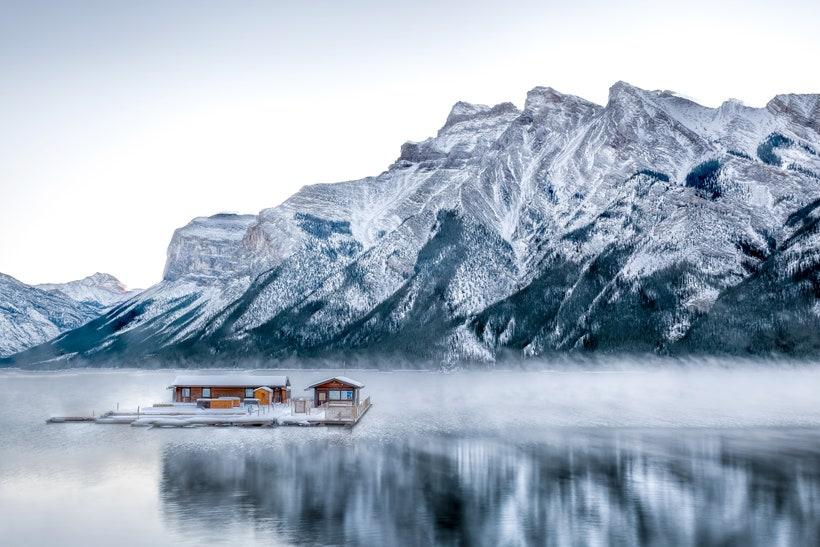 Озеро Минневанка, Канада