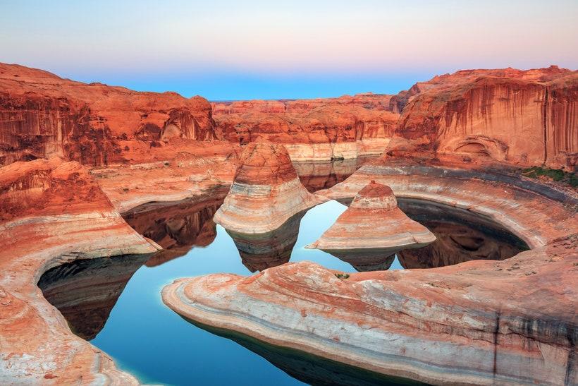Озеро Пауэлл, Юта и Аризона