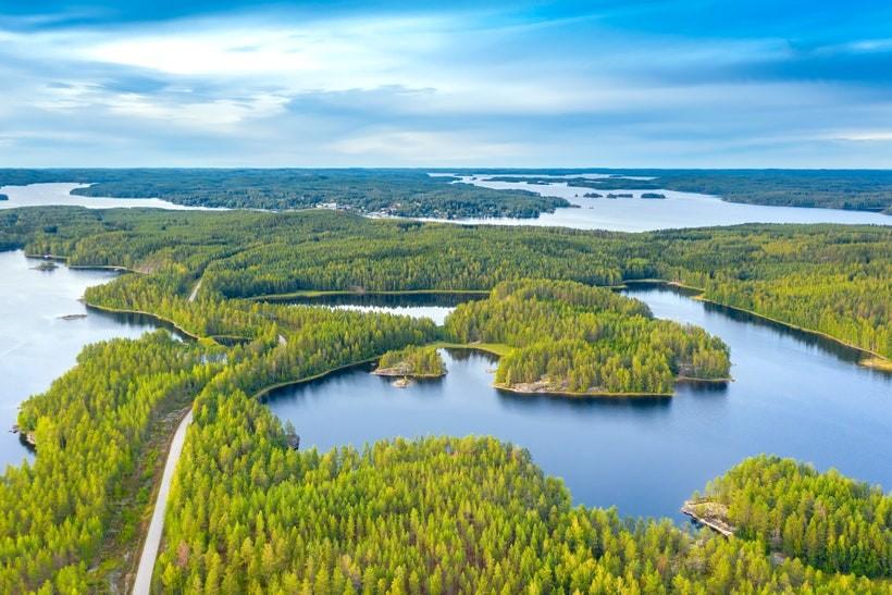 Озеро Сайма, Финляндия