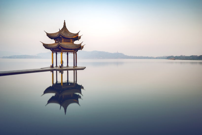 Западное озеро, Китай