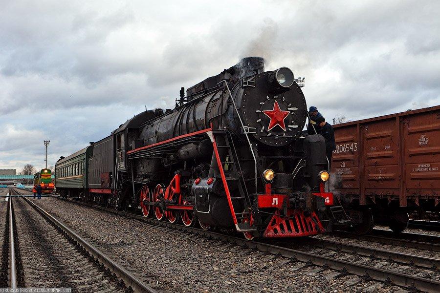 Паровозное путешествие по железной дороге