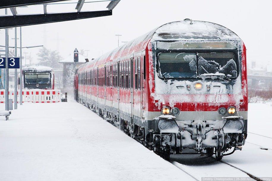 Экскурсия на немецком поезде по Вайсенбург