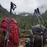 Как выбрать треккинговые палки для горных походов?