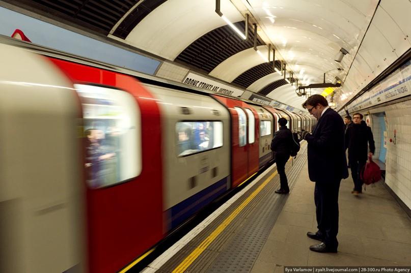 Как работает лондонское метро